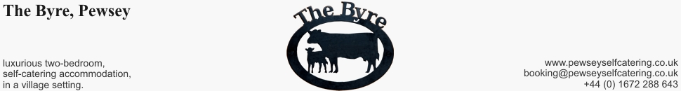 The Byre at Pewsey Self Catering